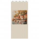 Панель ламинированная «Век» с печатью Венецианская олива - Форос панно 2700x250x9 мм, 5 шт