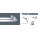 Плинтус потолочный гладкий NMC LX-150 (A) /150мм