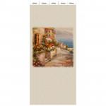 Панель ламинированная «Век» с печатью Венецианская олива - Ялта панно 2700x250x9 мм, 5 шт