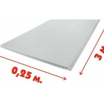 Панель пвх белая глянцевая 3.0 м Легранд