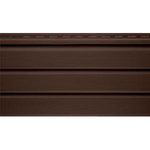Софит « Альта-профиль», коричневый гладкий