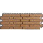 Фасадная панель «Альта-профиль», кирпич клинкёрный бежевый