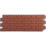 Фасадная панель «Альта-профиль», кирпич клинкерный красный