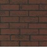 Листовая панель 3D стеновая панель МДФ Альбико под Кирпич темно красный 01