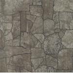 Листовая панель 3D стеновая панель МДФ Альбико под камень Коричневый 09