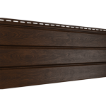 Софит Ю-Пласт PRO Орех темный Без перфорации (3000х300мм)