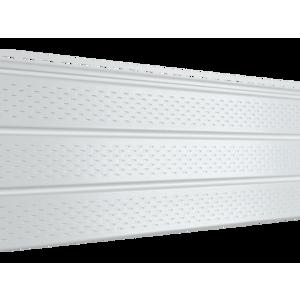 Софит Ю-Пласт PRO Белый Полностью перфорированный (3000х300мм)