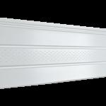 Софит Ю-Пласт PRO Белый Частично перфорированнычй (3000х300мм)