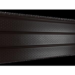 Софит Ю-Пласт PRO Коричневый Полностью перфорированный (3000х300мм)