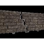 Сайдинг виниловый Ю-пласт, коллекция «Стоун Хаус», Кварцит коричневый