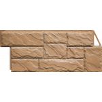 Фасадная панель FineBer, крупный камень терракотовый