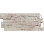 Фасадная панель FineBer, скала мелованная белая