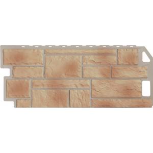Фасадная панель FineBer, камень бежевый