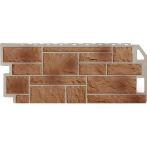 Фасадная панель FineBer, камень терракотовый