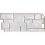 Фасадная панель FineBer, камень мелованный белый