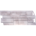 Фасадная панель FineBer, природный камень жемчужный