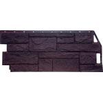 Фасадная панель FineBer, природный камень коричневый