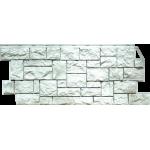 Фасадная панель FineBer, дикий камень жемчужный