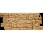 Фасадная панель FineBer, дикий камень песочный