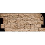 Фасадная панель FineBer, дикий камень терракотовый