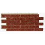 Фасадная панель T-Siding Кирпич Красный 1090х455 мм