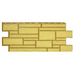 Фасадная панель T-Siding Дикий Камень Желтый 1090х455 мм
