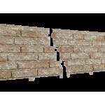 Сайдинг виниловый Ю-пласт, коллекция «Стоун Хаус», кварцит Светло-бежевый