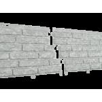 Сайдинг виниловый Ю-пласт, коллекция «Стоун Хаус», кварцит Светло-серый