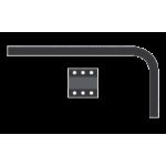 Кронштейн металлический для ПВХ (17 см) с комплектацией 'Ле-Гранд'