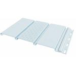 Виниловый софит FineBer Classic Color Белый (панель с перфорацией среднего листа)