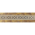 Бленда дек. Амулет 'Антик золото' карниза 'Ле-Гранд' 7 см.
