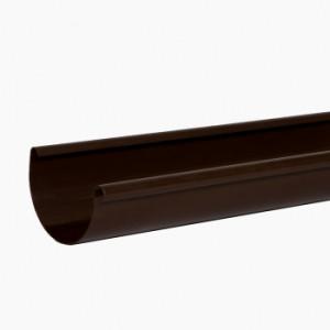 желоб водосточный 3 м., коричневый, водосточная система Альта-Профиль (элит)