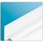 Профиль универ. Бордюр ПВХ Белый БВ (на ванну) 22х2000мм IDEAL
