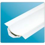 Профиль универ. Галтель ПВХ Белый ГМ (с мягкими краями) 25х25х2500мм IDEAL