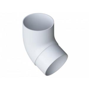 Водосточная система Альта-Профиль (Элит) колено трубы 45°, белый