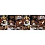 Кухонный фартук АБС 600х3000х1,5мм Кофе