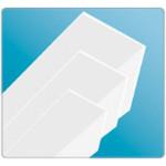 Угол ПВХ 60x60x2,74 Белый IDEAL