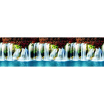 Кухонный фартук АБС 600х3000х1,5мм Водопады