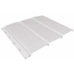 белый 0,9 м, тройной, без перфорации, виниловый софит для крыши Ю-Пласт (0,3х3000мм.)