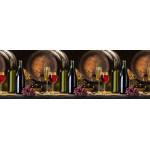 Кухонный фартук АБС 600х3000х1,5мм Вино