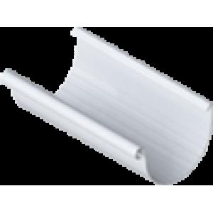 желоб водосточный 3 м., белый, водосточная система Альта-Профиль (элит)
